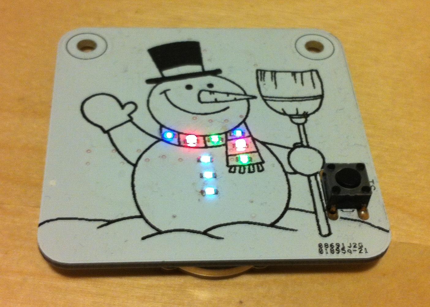 christmas-snowman-pcb
