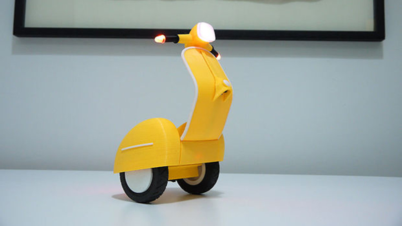 3D Printing self-balancing Scooter