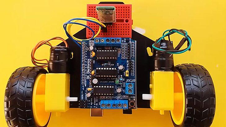 vocie controlled robot car