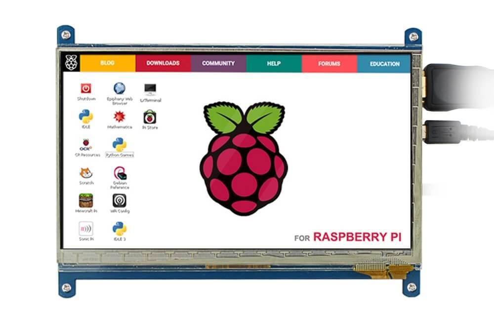 raspberry pi 7 inch