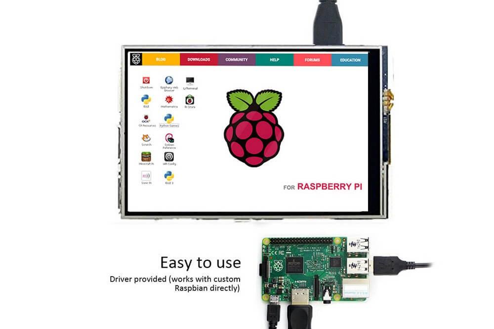 tft display- raspberry pi 3.5 inch