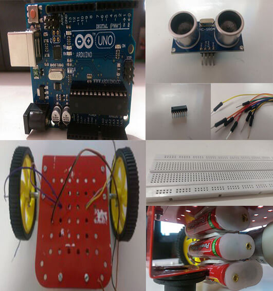 arduino robot material required