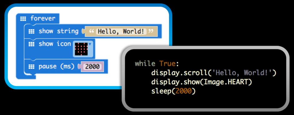 Coding your micro:bit