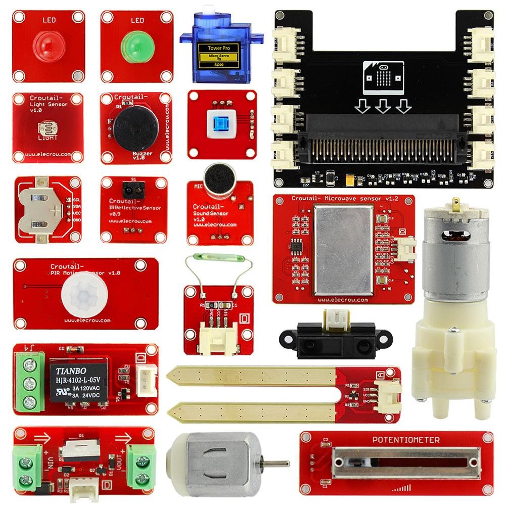 Elecrow Crowtail starter kit for micro:bit