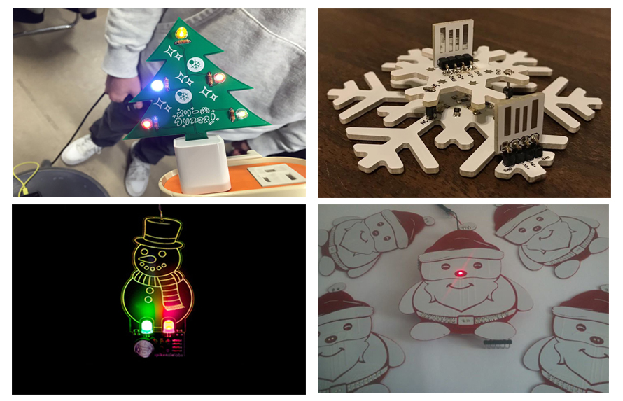 Elecrow CHristmas Contest Projects