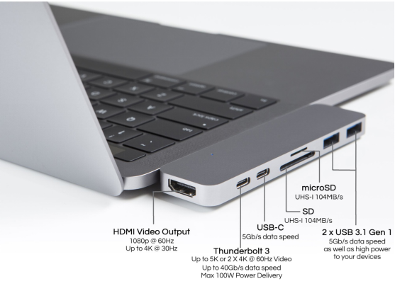 Acceessories with USB-C