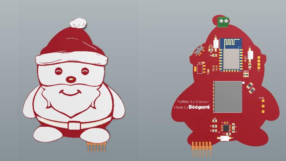 Xmas Santa PCB