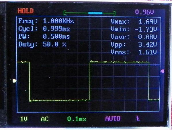 DSO138 Digital Oscilloscope DIY kit