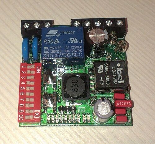 Inductive Loop Vehicle Detector v2.1 PCB Board