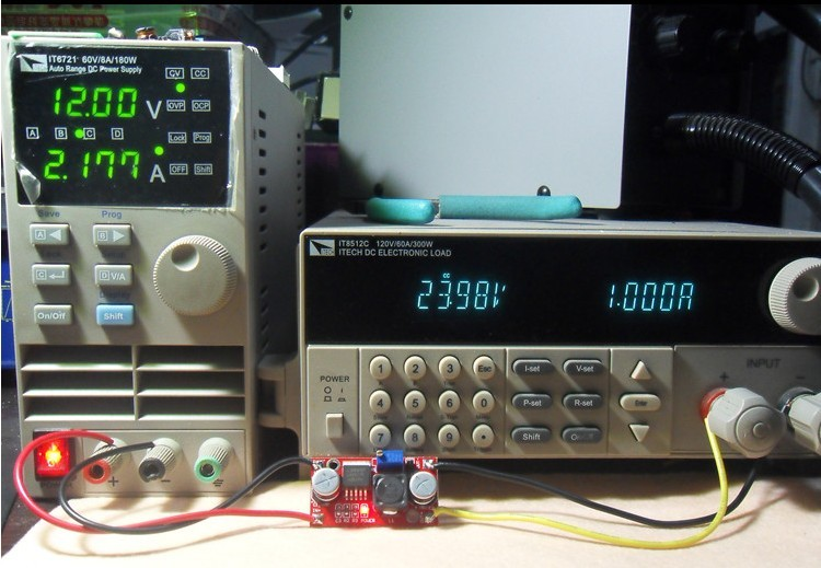 Adjustable DC-DC Booster- LM2577