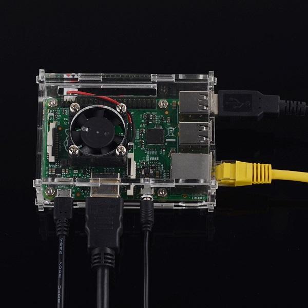 DC 5V 0.13A Cooling Fan for Raspberry Pi Model B+/B