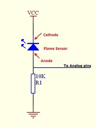Flame Sensor (5pcs pack)