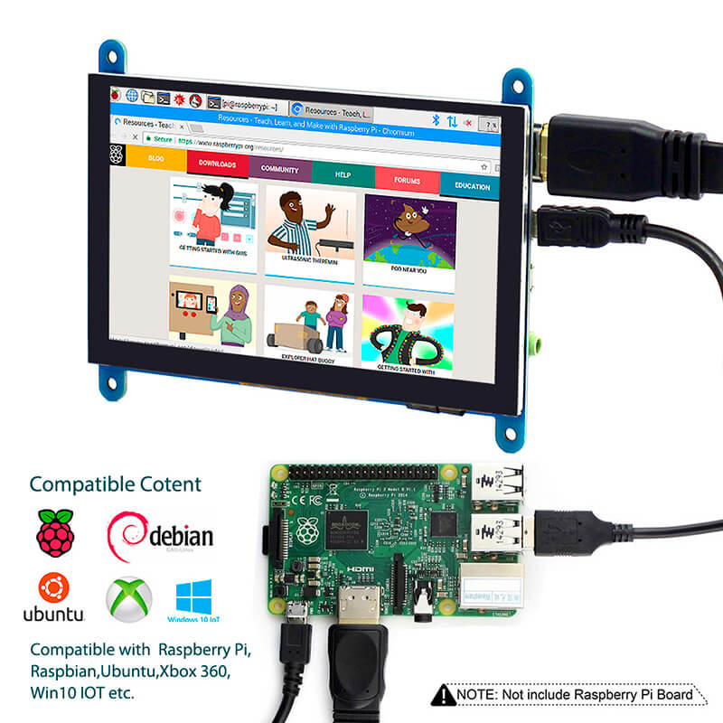 5inch-capacitive-LCD-display-for-raspberry-pi-3