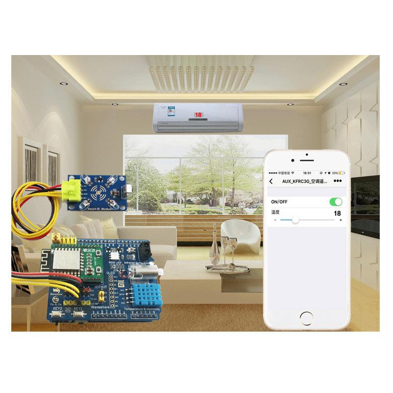 Arduino_Infrared_Remote_Control_IOT_Smart_IR_Module-1