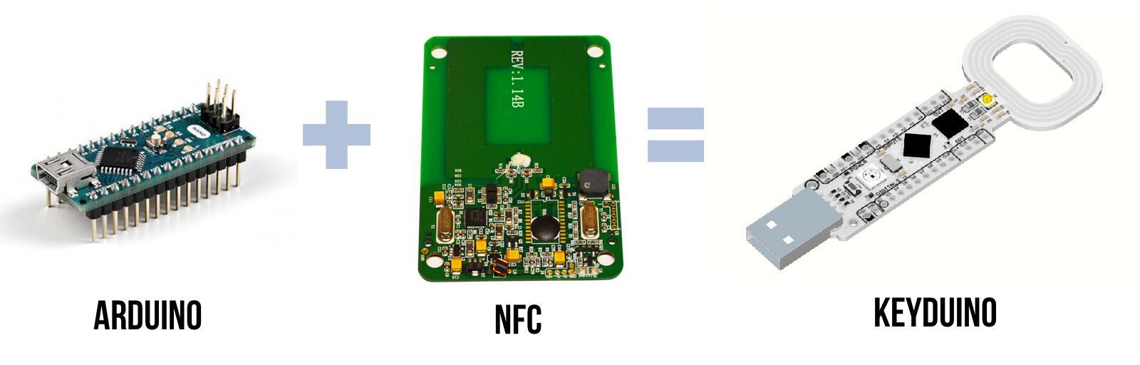 KeyDuino NANO - arduino compatible NFC board