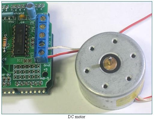 Arduino Motor Stepper Servo Shield Elecrow