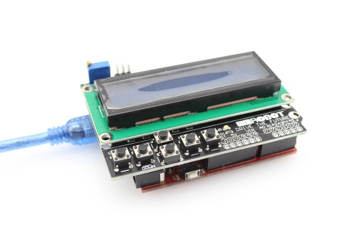 LCD Keypad Shield - Elecrow