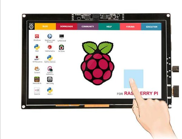 RC070M 7 inch 1024 X 600 Touch Screen Display with 720P Camera for Raspberry Pi MacBook Pro. Windows 10 1.jpg