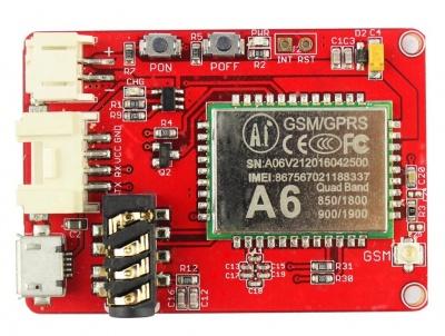 Crowtail- A6 GPRS/GSM Module - Elecrow