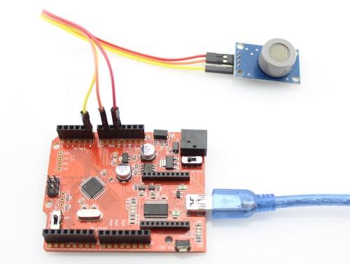 Analog CO/Combustible Gas Sensor(MQ9) - Elecrow