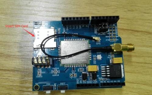 A7 GPRS+GSM+GPS Shield - Elecrow