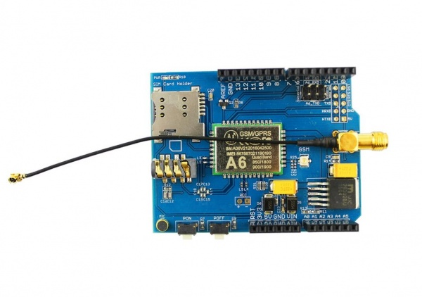 A6 GPRS/GSM Shield - Elecrow